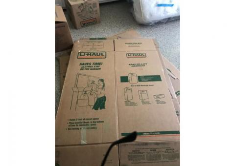 Free used uhaul boxes